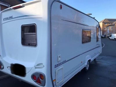 Sterling eccles 4 berth caravan 2004