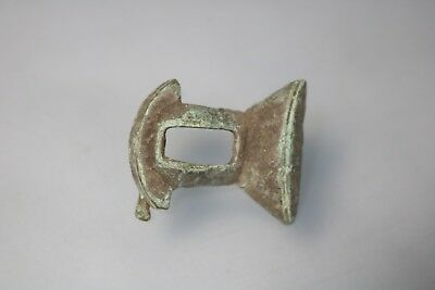 Ancient Roman Bronze Legionary Fibula Brooch  1st-4th AD