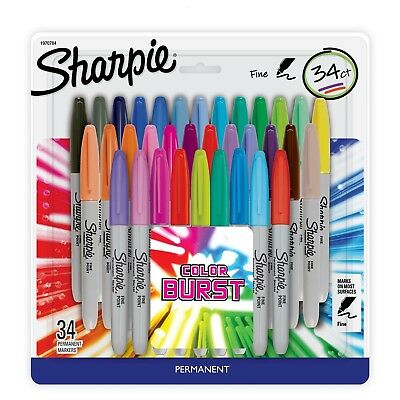 permanent marker pack 8each