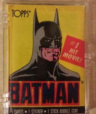 1989 Batman Topps Trading Cards.