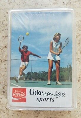 1979 SEALED Coca-Cola Playing Cards Deck Coke Adds Life to Sports!!