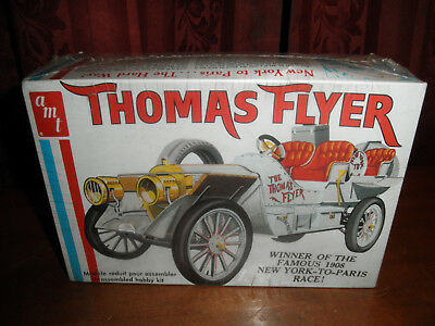 1/25 1908 THOMAS FLYER Famous NY to Paris Race Car by AMT SEALED!  NICE!