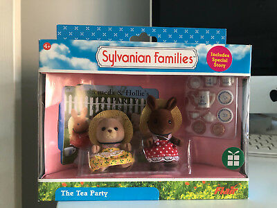 Boxed and Rare New Sylvanian Families The Tea Party