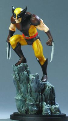 Bowen Designs Wolverine full size brown variant statue number 1707 of 3500