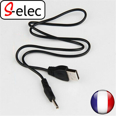 5018# USB to 3.5mm Barrel Jack Male DC 5v power Supply charger adapter cable