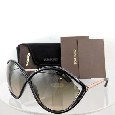 Brand New Authentic Tom Ford Sunglasses Ft Tf 0528 Tf528 01B Liora Frame