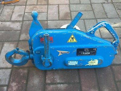 Tirfor Tractel TU16..... 1600KG 1.6 Ton/Tonne......... Hoist Winch Recovery