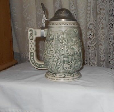 """Millennium  1000 Years Of History """"collector's Stein"""""""