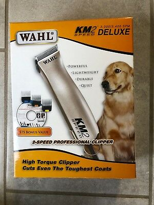 Wahl KM2 2-Speed Heavy Duty Pet Clippers Dog Grooming