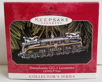 Hallmark Christmas Ornament Lionel Pennsylvania 4907 GG-1 LOCOMOTIVE TRAIN No.3