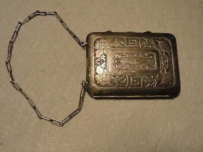 German Silver Coin and Card Holder