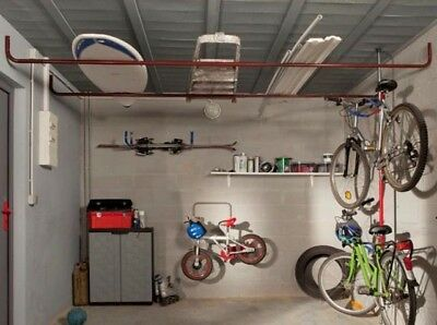 Garage Workshop Corridor Ceiling Storage for the Ceiling Area - Make Space