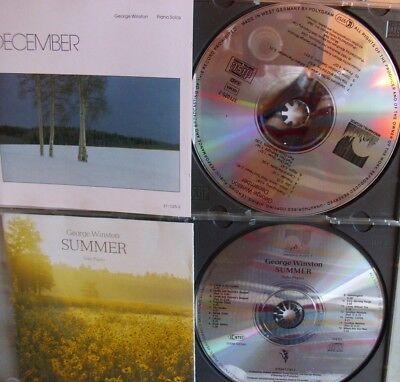 George Winston- December/ Summer- Solo Piano- 2 CDs Made in Germany- lesen