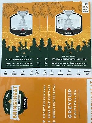 The ultimate Grey Cup Fan Pack of 4 tickets