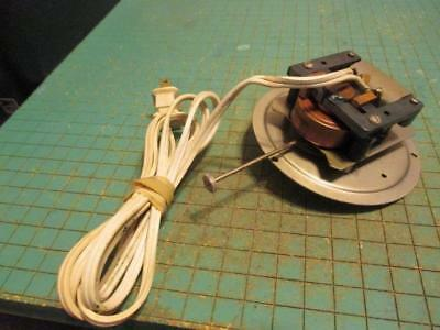 Vintage GE Telechron Clock Motor and Movement - Works