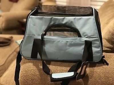 NWT OxGord Paws & Pals Pet Carrier Soft Sided Travel Bag Dogs & Cats Small