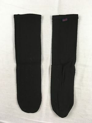 NEW Maxit - 2 Pack Black Poly Calf High Socks (Multiple Sizes)