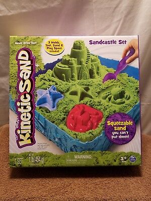 🚛Fast Shipping! Kinetic Sand Sandcastle Set Color Surprise (Colors Vary)