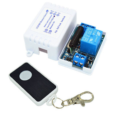 1CH 433Mhz Relay Module Wireless Remote Control Switch Transmitter Receiver