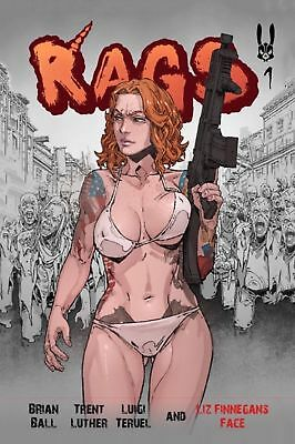 RAGS #1 - Self-Published Edition - Hot Book - HTF - Pre-Sale