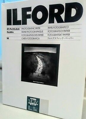 Ilford IV RC Deluxe Resin B/W Paper 11x14 in, 10, Pearl #1168347