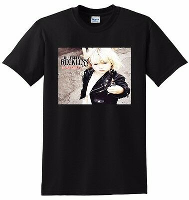THE PRETTY RECKLESS T SHIRT light me up SMALL MEDIUM LARGE XL