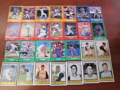 Big Lot of Vintage Baseball Cards! 276!  From Sears Catalog With 8 Postcards!