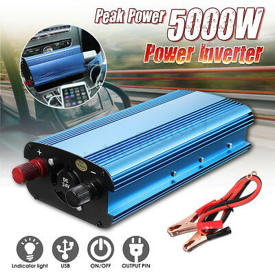 5000W Car Power Inverter DC 12/24/48/60 to AC 220V  Modified Sine Wave