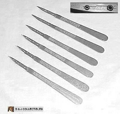 Disposable Ss Scalpel W/ # 11 Blade Surgical Craft Hobby Instruments