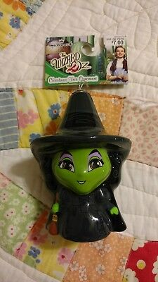 Hallmark Disney Wizard Of Oz Wicked Witch West Christmas Ornament NWT Free Ship