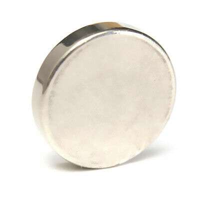 N52 25mm x 5mm Super Strong Rare Earth NdFeb Large Neodymium Disc Round Magnet