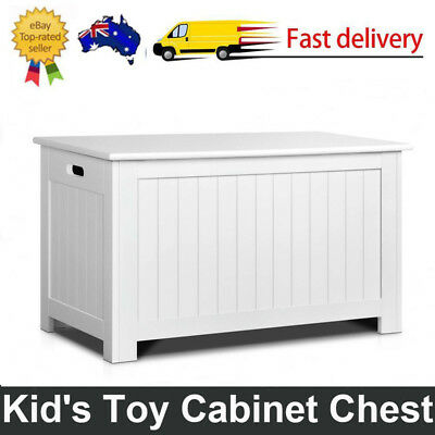 Kids Toy Box Chest Storage Cabinet Containers Children Clothes Organiser Durable