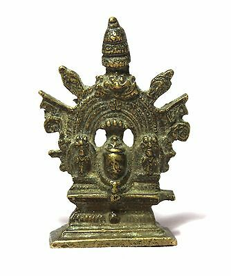 Old Vintage Beautiful Unique Look Hand Made Brass God Shivaling Statue Figurine