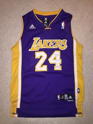 4bde11f25 PRE-OWNED ADIDAS LA Lakers Kobe Bryant Jersey 60th Anniversary ...