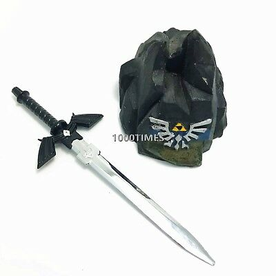 Legend of Zelda Hylian Black Master Sword Letter Opener Anime Mini Cosplay