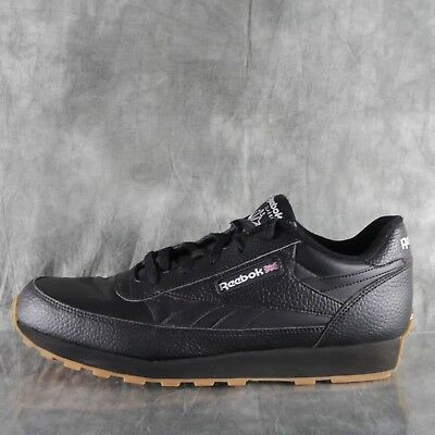 fbfc09c003c48d REEBOK CLASSIC LEATHER Renaissance Gum (US-BLACK WHITE GUM) Men s ...