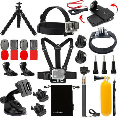Chest Harness Head Strap Mount Tripod For Gopro Hero 6 5 4/3+/3/2/1 /Session 5
