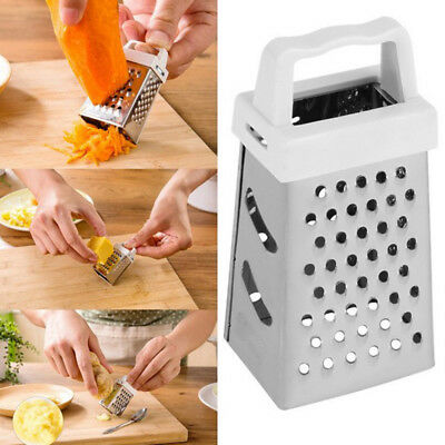 Kitchen 4 Sided Blades Cheese Grater Fruit Cucumber Slicer Cutter Box Container