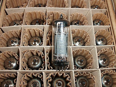6P1P-EV Lot of 10Pcs  Russian Audio Output Tubes OTK Stamp new industrial box