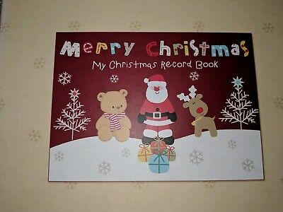 Christmas Record Book
