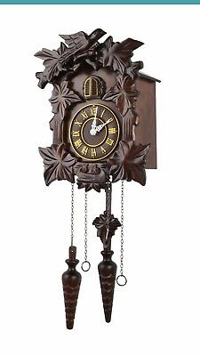 Brand New Kendal Handcrafted Wood Cuckoo Clock MX313