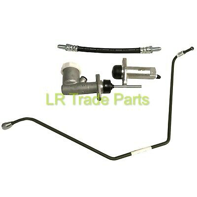 Land Rover Series 3 New Clutch Master & Slave Cylinders With Hose Pipes Kit