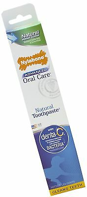 Nylabone Advanced Oral Care Natural Peanut Flavored Dog Toothpaste 2.5 Ounce