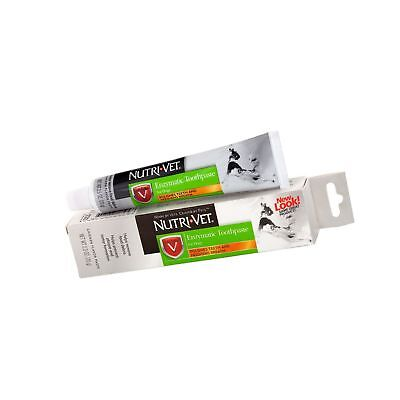 Nutri-Vet Enzymatic Chicken Flavored Canine Toothpaste, 2.5 Ounce