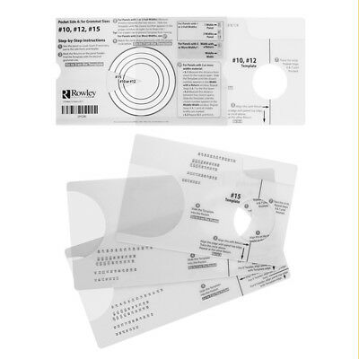 Grommet Spacing Template,  Perfect for Drape Making