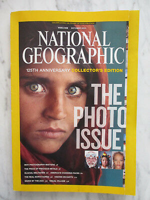 National Geographic Magazine October 2013 125th Anniversary The Photo Issue