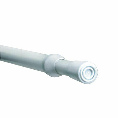 Linens Limited Steel Telescopic Extendable Tension Rod, White