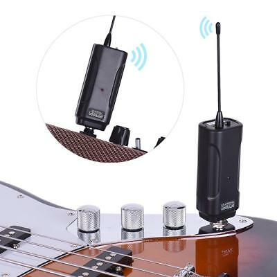 Ammoon Electric Guitar Audio Transmitter Wireless System Transceiver 50M New