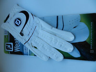 Footjoy Weather Sof mens Golfhandschuh Gr.M right, weiß
