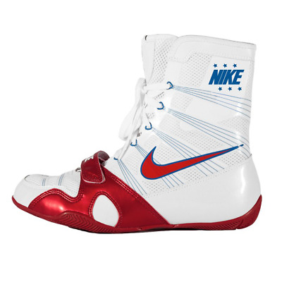 Nike Hyper Ko Boxing Boots White/red